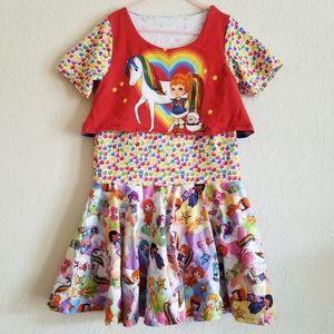 Vintage Rainbow Brite Dress.